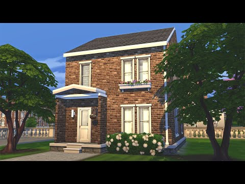 Can I build a BRITISH Starter Home? | The Sims 4