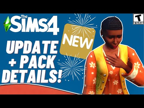 NEW DETAILS- BASE GAME UPDATE & PARANORMAL STUFF PACK- SIMS 4 NEWS 2021