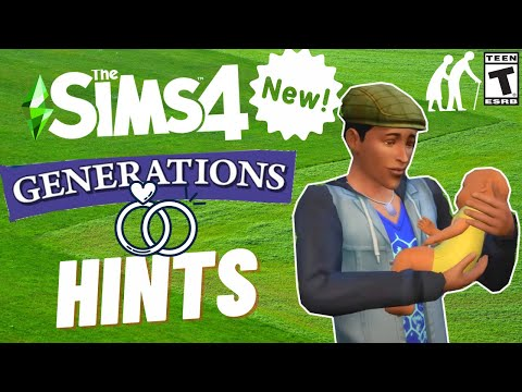 NEW GENERATIONS HINTS- SIMS 4 SPECULATION & NEWS 2021