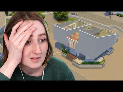 I rebuilt the ugliest lot in The Sims 4 but... tiny