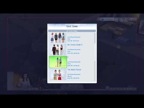 The Sims4 glich