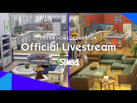 The Sims 4 Dream Home Decorator Livestream