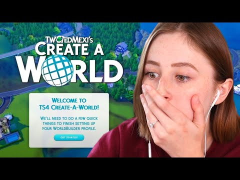 CREATE A WORLD IS COMING TO THE SIMS 4