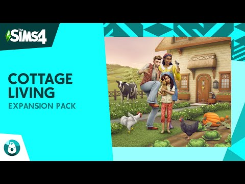 The Sims 4 Cottage Living: Official Reveal Trailer