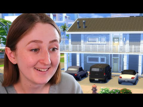 i tried building an apartment complex in the sims