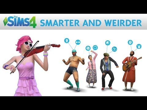 The Sims 4: Smarter and Weirder Official Gameplay Trailer