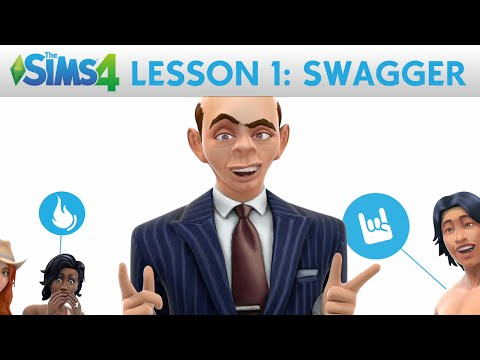 The Sims 4 Academy: Swagger - Lesson 1: Create A Sim