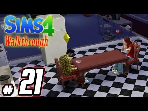The Sims 4 Gameplay - Part 21 - Elope Glitch WTF? (Girlfriend Break Up) (Selena) PC Walkthrough