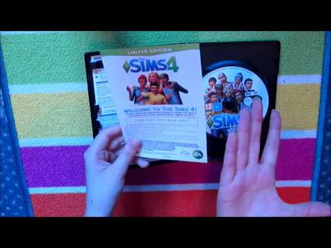 The Sims 4 PC Game Unboxing!
