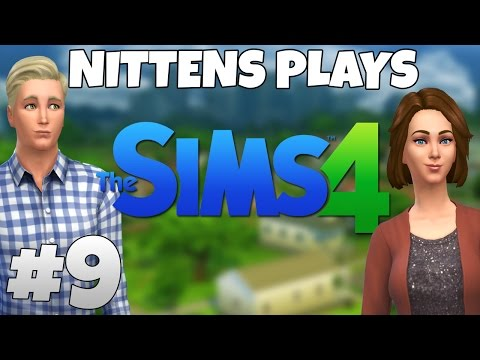 nittens Plays The Sims 4: Jaggers Room - Part 9