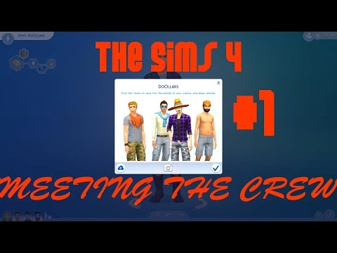 The Sims 4 - Meeting the Crew