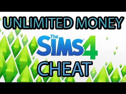 The Sims 4: Unlimited Money Cheat Tutorial