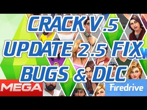 [Descargar] & [Instalar] CRACK V.5 y UPDATE 2.5 FIX BUGS & DLC - Los Sims 4