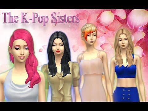 The Sims 4 Create a Sim - The KPop sisters