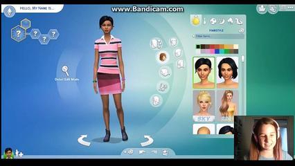 Sims4 Fake Alien CAS ~Lidya