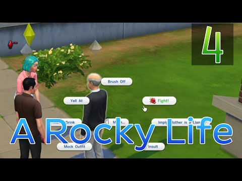 [4] A Rocky Life (Let's Play The Sims 4 w/ GaLm)