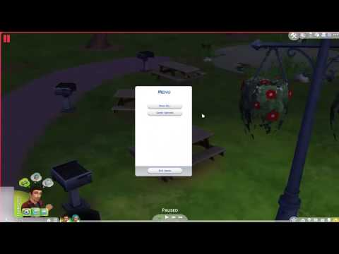 THE SIMS 4 Blurry glitch FIX!!!
