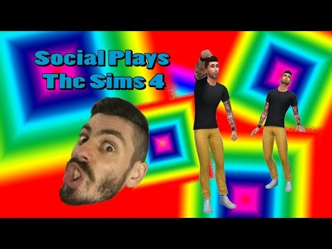 Social Plays the Sims 4 (let's build a social)