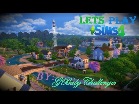 Lets Play The Sims 4 Part 3: Paintings GALORE!