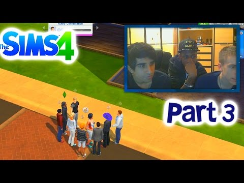 The Sidemen in Sims 4 - (Sims 4 Livestream)