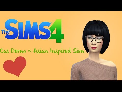TS4 CAS Demo ~ Asian Inspired Sim