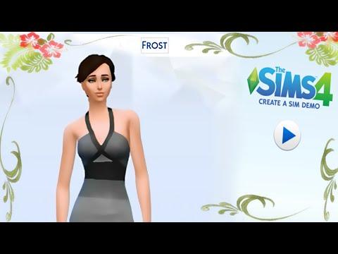 TS4 CAS Demo: Jennifer Frost