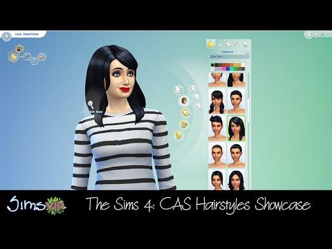The Sims 4: Create-a-Sim Hairstyle Showcase