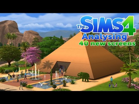 The Sims 4 - Analysing 40 new screens