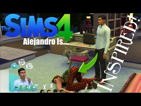 Alejandro is inspired! | Sims 4