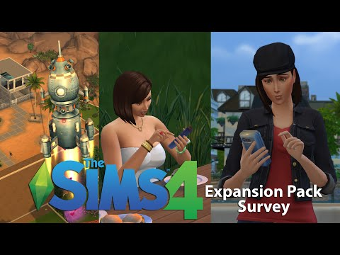 The Sims 4 - Expansion Pack Survey