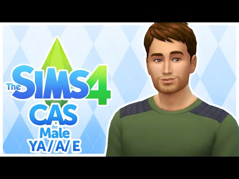 The Sims 4 - Male Young Adult, Adult, and Elder - CAS - Create A Sim - No Commentary