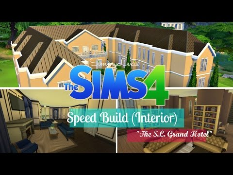 The Sims 4: Speed Build - Interior of