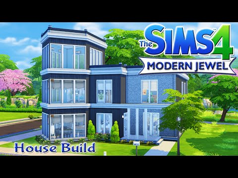 The Sims 4 House Build - Modern Jewel Family Home