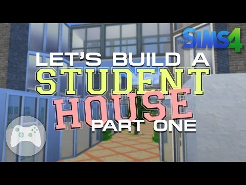 Let's Build A Student House (Part 1) - The Sims 4