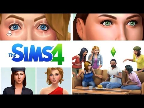 Sims 4 | What's Photoshopped, What's Not? COMPARISONS