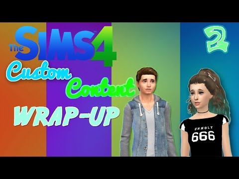 [The Sims 4] Weekly Custom Content Wrap-up (#2)