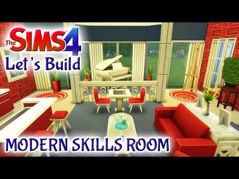 Sims 4 Room Build: Modern Skills Room