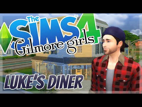 The Sims 4 Gilmore Girls Luke's Diner + Download [TS4]