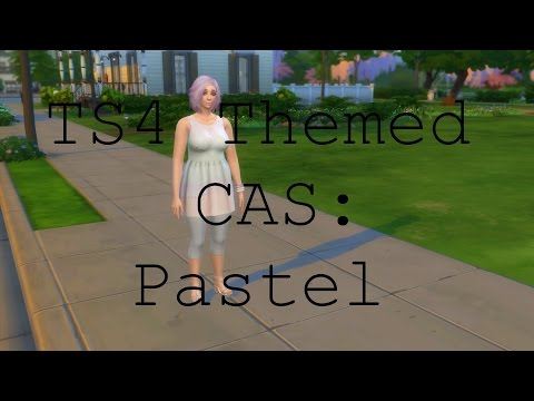 TS4 Themed CAS: Pastel