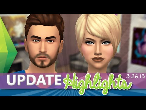The Sims 4 Free Update Highlights | Basements, Hairs, Lip Colors, Interactions + More