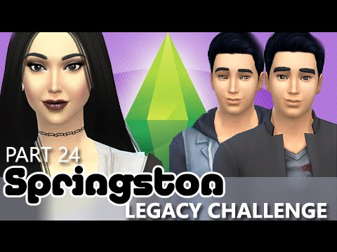 The Sims 4 | Springston Legacy - A Baby Is Born!