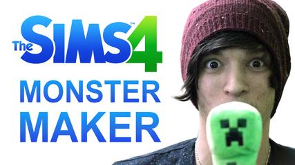 MONSTER CREATION SIMULATOR 2014 (The Sims 4)