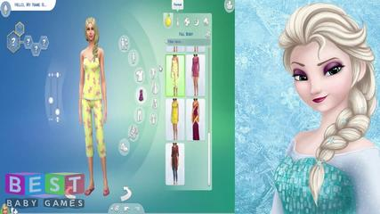 ღ Disney Frozen Princess Elsa - The Sims 4 (Create a Sim)