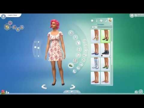The Sims 4 CAS demo part 4 -Christi Rose-